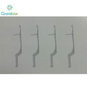 42.56 G02 Latch Needles For Warp Knitting Machine