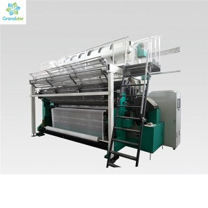 Curtain Machine Karl Mayer Warp Knitting Machine Raschel Machine For Lace Curtain Fabric