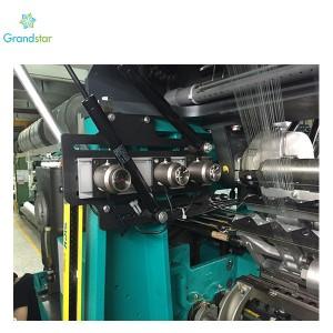 Laser peatus Textile Machine