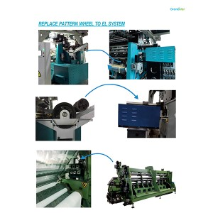 EL System Electronic Lateral System For Warp Knitting Machine