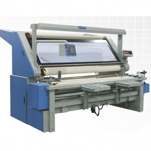 Servo Correction and Tension-free Fabric rolling Machine